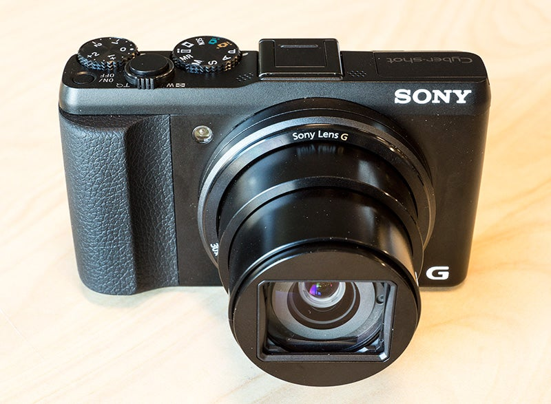 sony cyber-shot hx50 front view