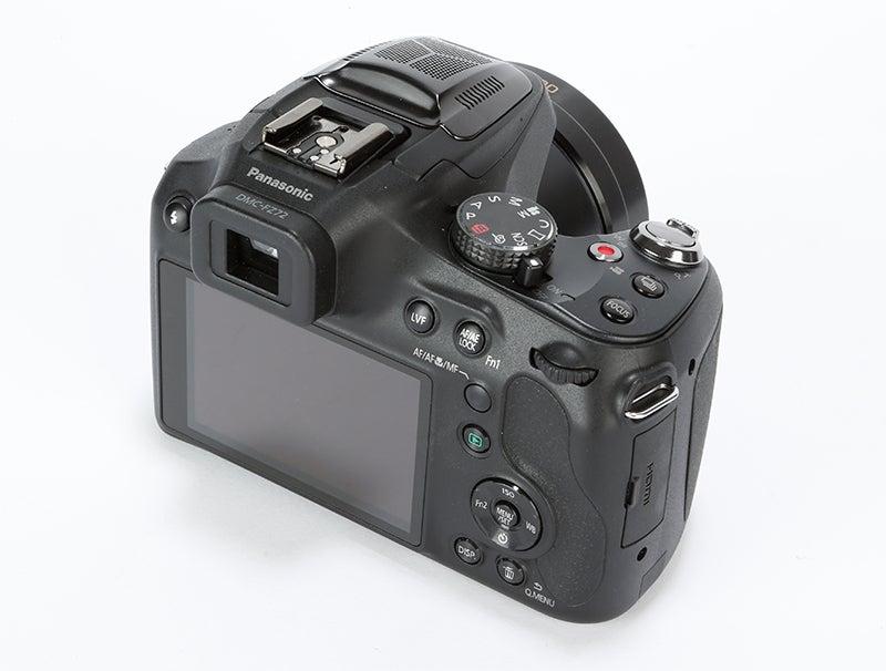 Panasonic Lumix FZ72 Review -  rear angle