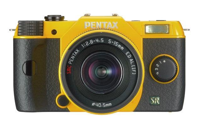 Pentax Q7 Review -  colour choice