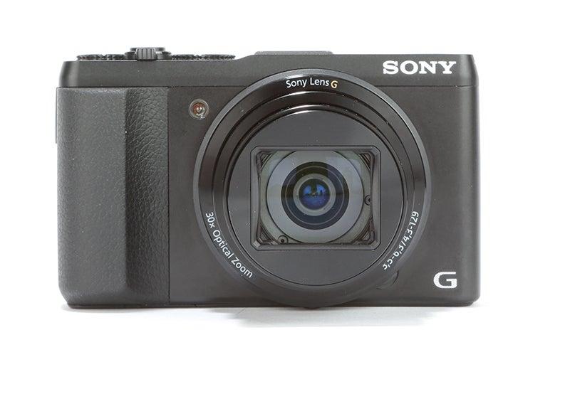 Sony Cyber-shot HX50 Reviewfront view