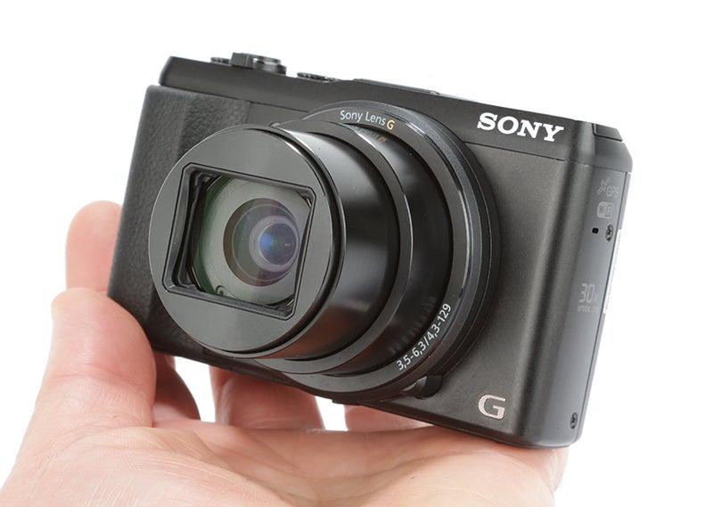 Sony Cyber-shot HX50 Review - handlheld