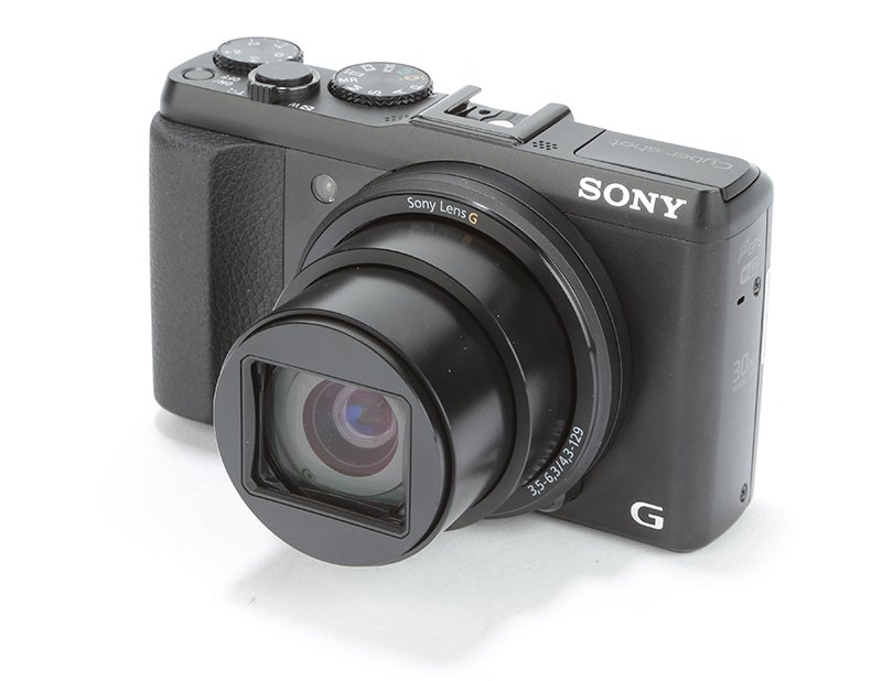 Sony Cyber-shot HX50 Review - front angled