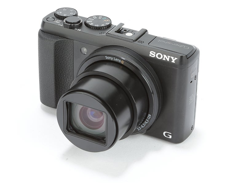 Sony Cyber-shot HX50 Review - angled