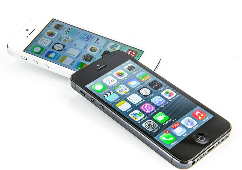 Apple iPhone 5s Review -  angled