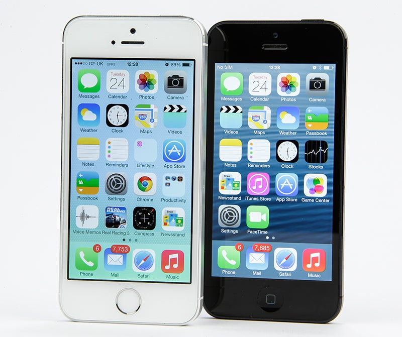 Apple iPhone 5s Review - side by side