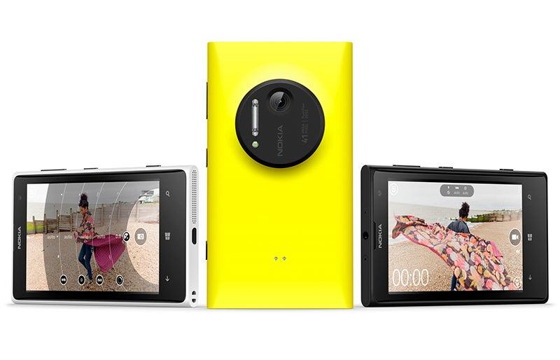 Nokia Lumia 1020 group shot