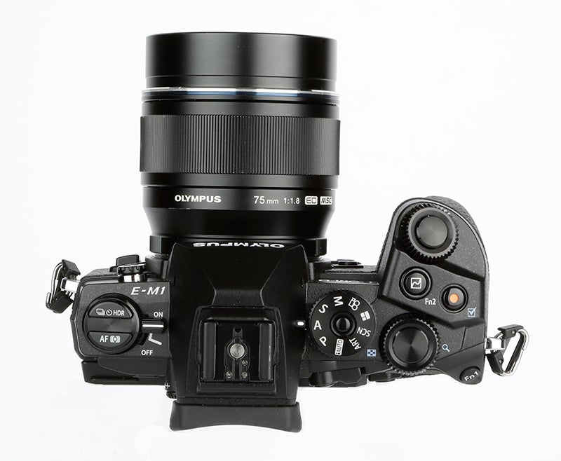 Olympus OM-D E-M1 Review – control layout