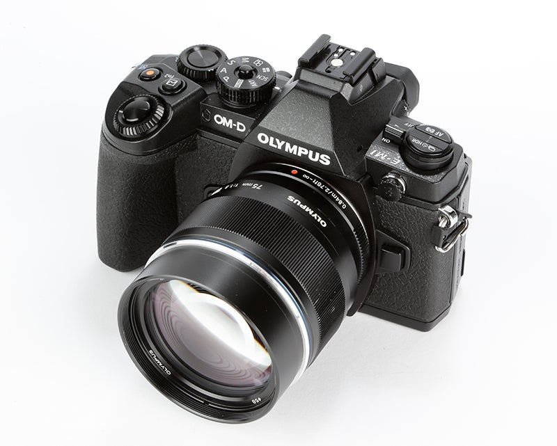 Olympus OM-D E-M1 Review –  top angle