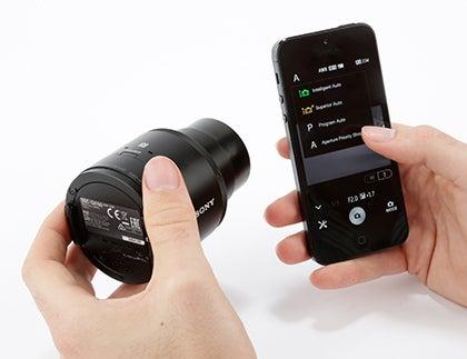 Sony QX100 - How it works step 6