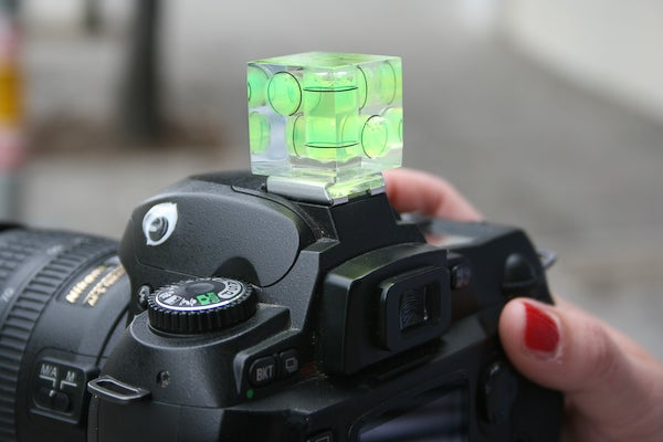 Level Camera Cube