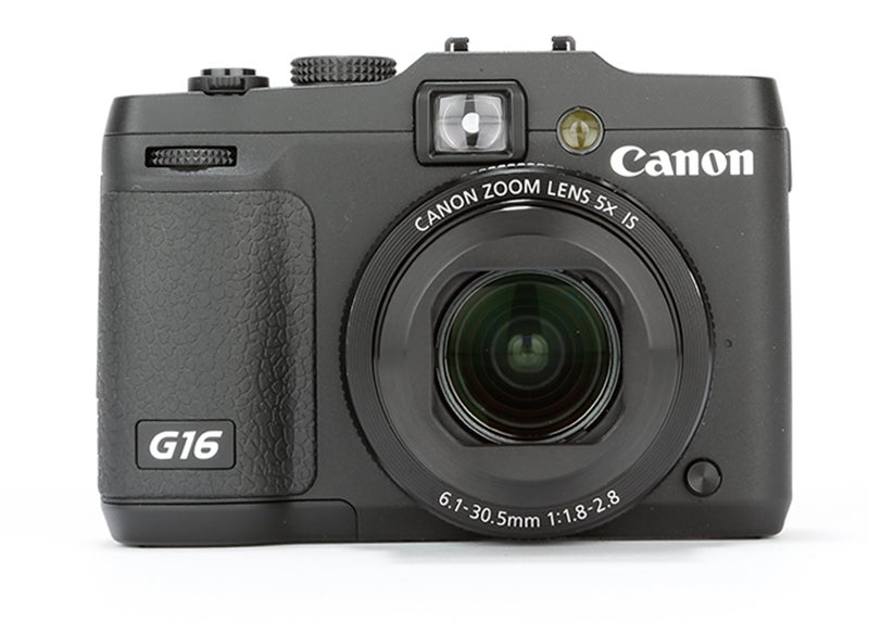 Canon PowerShot G16 Review –  front view