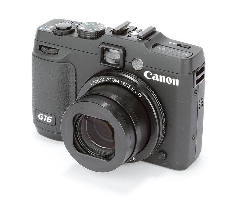 Canon PowerShot G16 Review – front