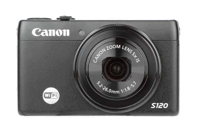 Canon PowerShot S120 Review – front view