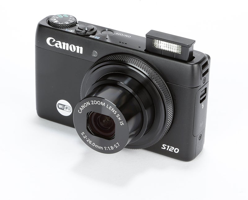 Canon PowerShot S120 Review –  angle