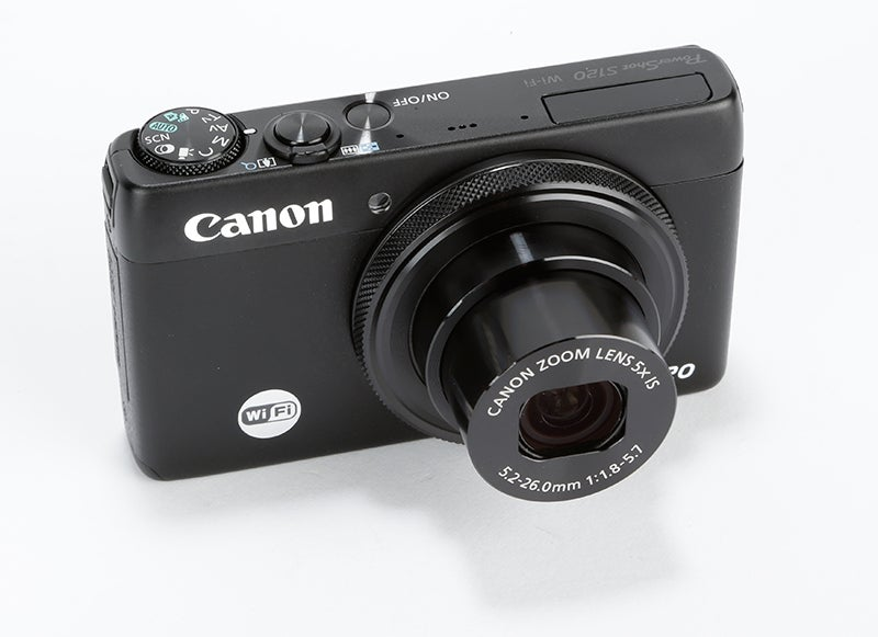 Canon PowerShot S120 Review – angled
