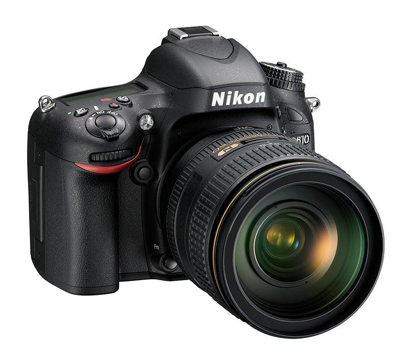 Nikon D610 front angled