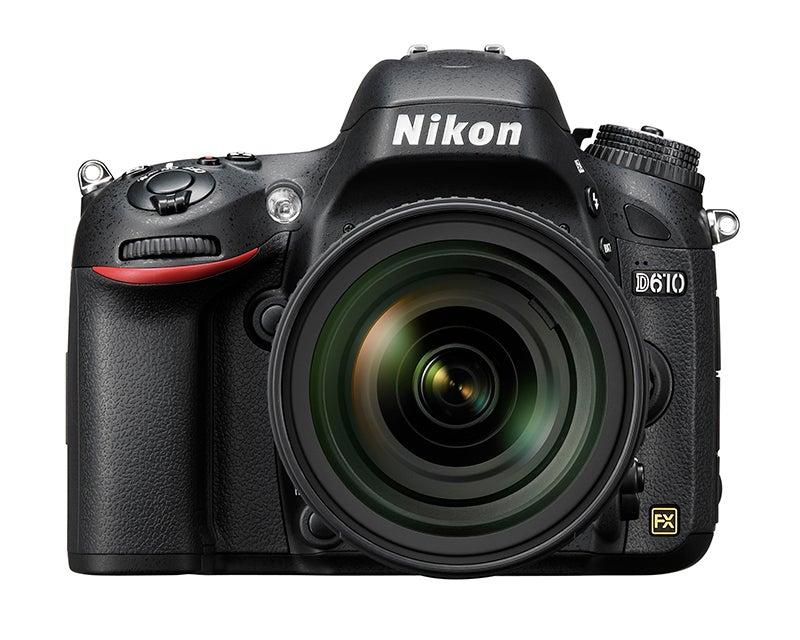 Nikon D610 Review – front view