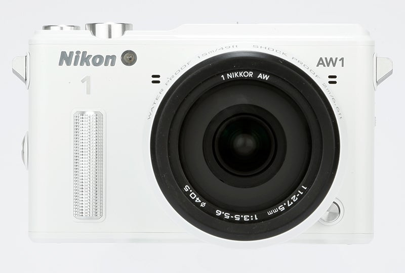 Nikon 1 AW1 Review –  front view