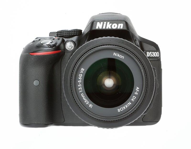 Nikon D5300 Review - front view
