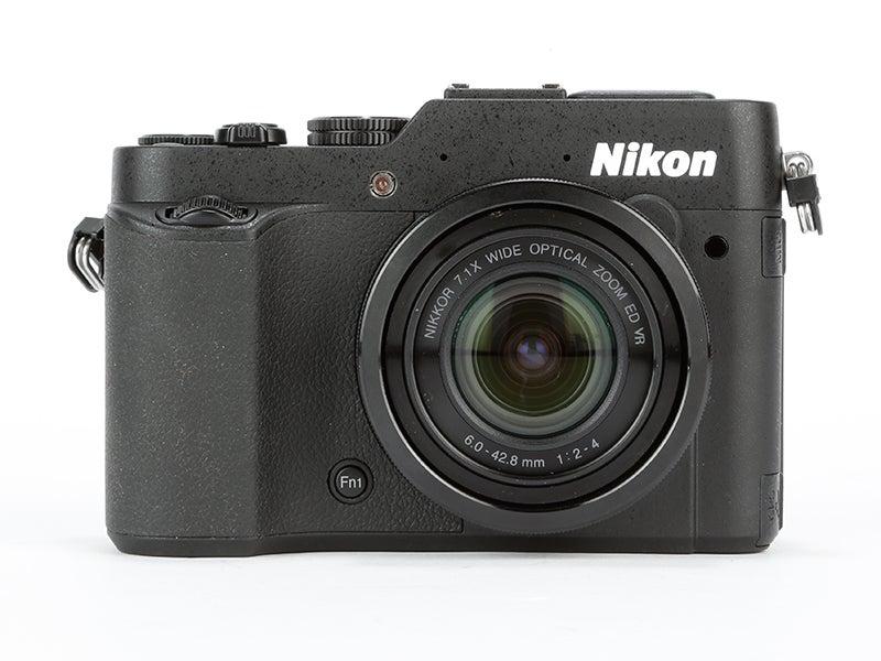Nikon P7800 Review – front view