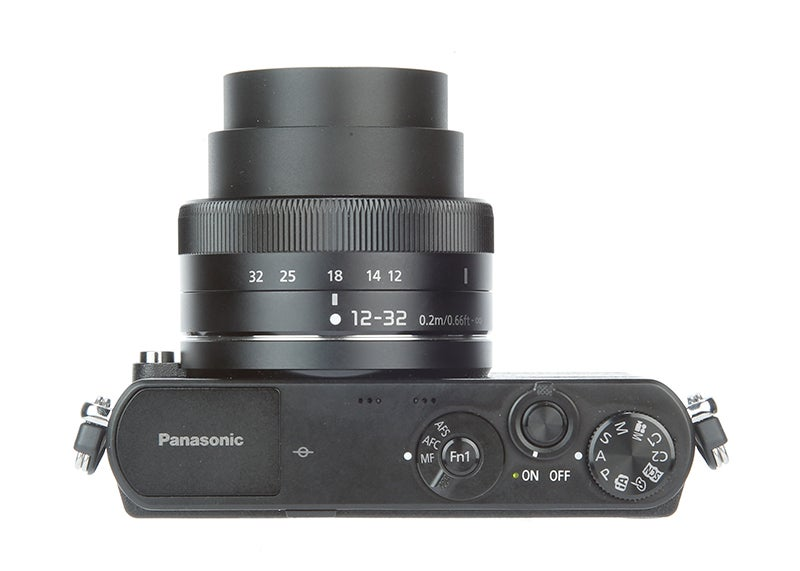Panasonic Lumix GM1 Review - top down extended
