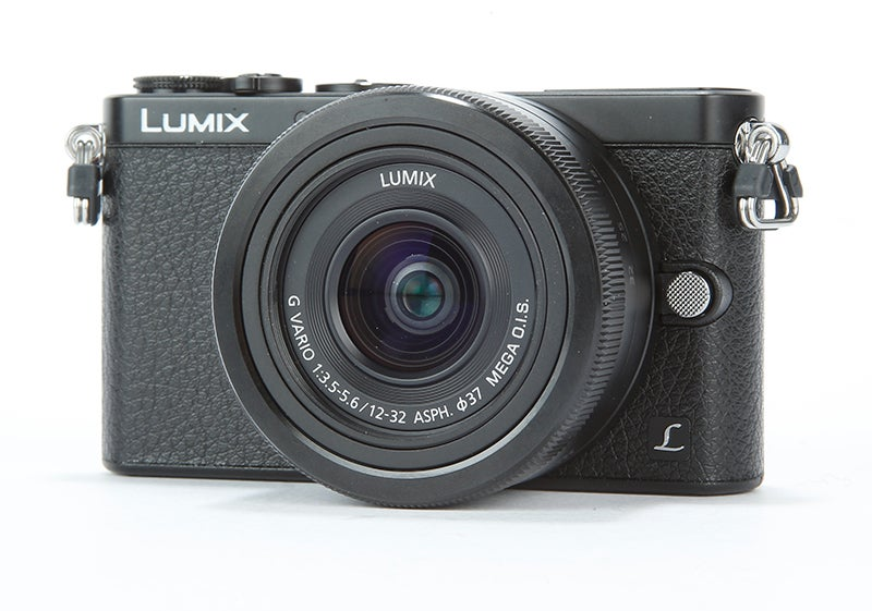 Panasonic Lumix GM1 Review – front view angled