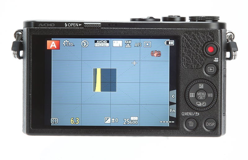 Panasonic Lumix GM1 Review – rear controls