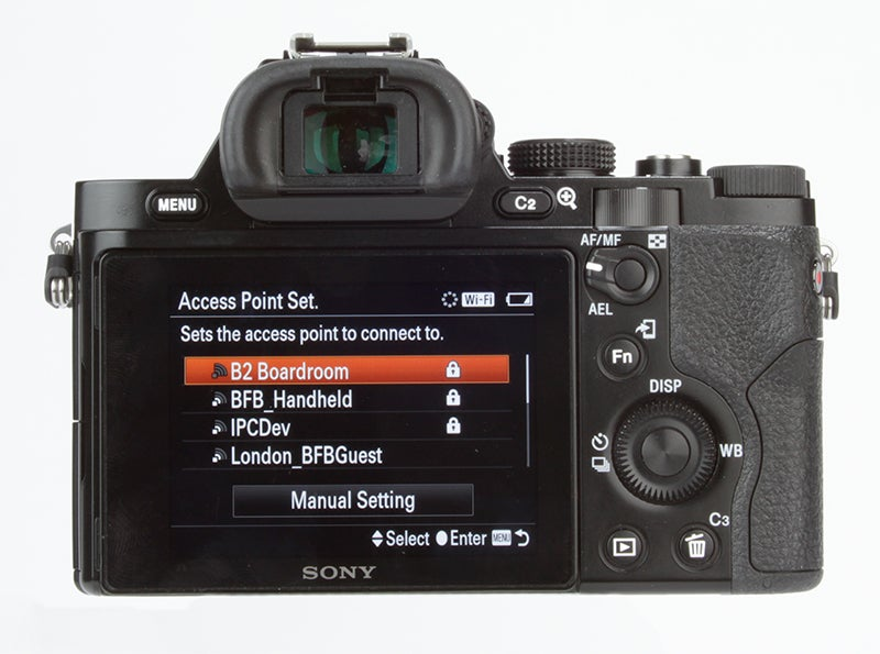 Sony Alpha 7 (A7) Review - rear controls