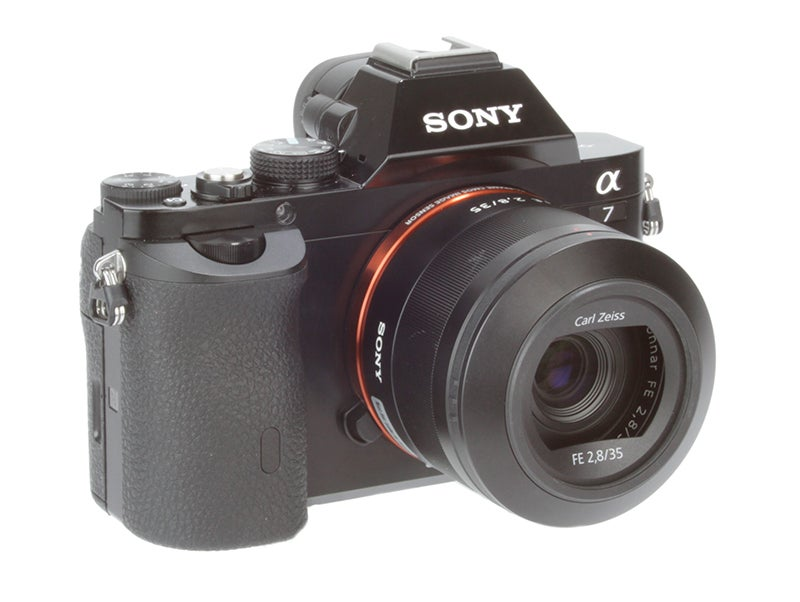 Sony Alpha 7 (A7) Review - front angled