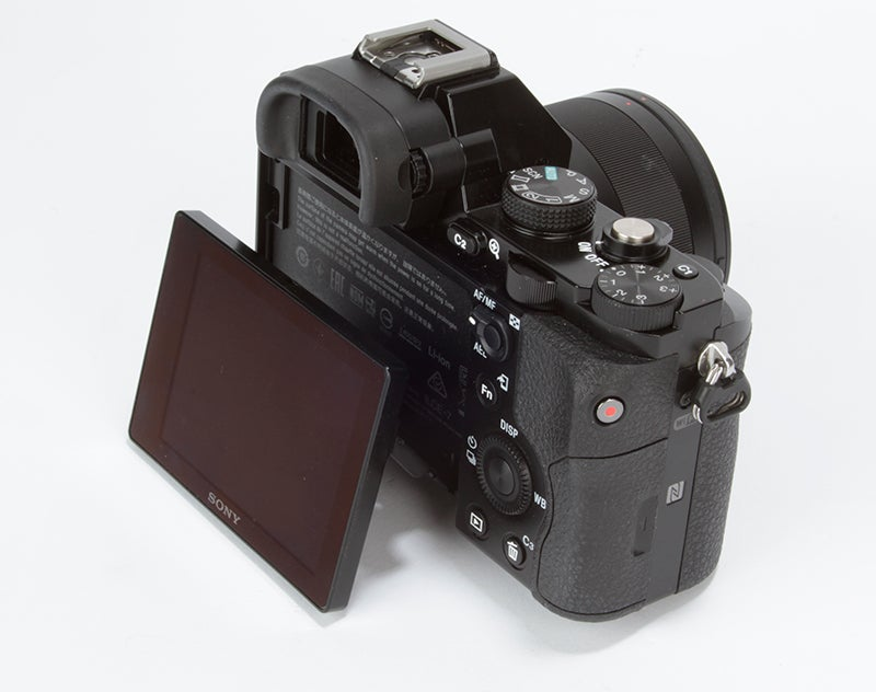 Sony Alpha 7 (A7) Review - rear side angled