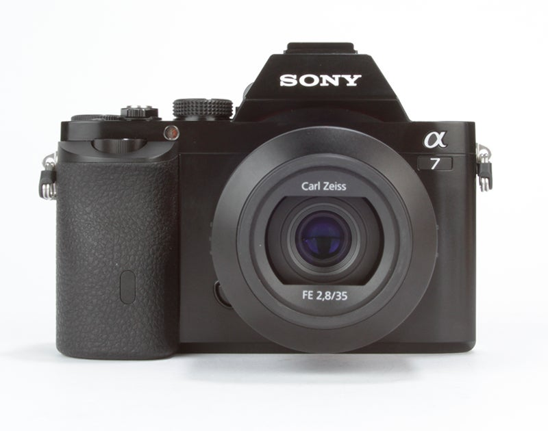 Sony Alpha 7 (A7) Review - front view