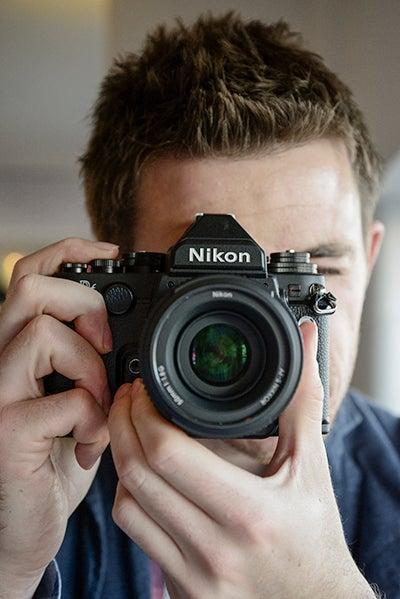 Nikon Df hand held shooting