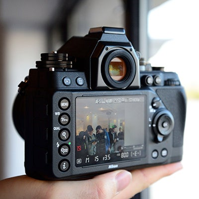 Nikon Df rear angled