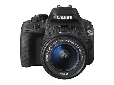 Canon EOS 100D front view