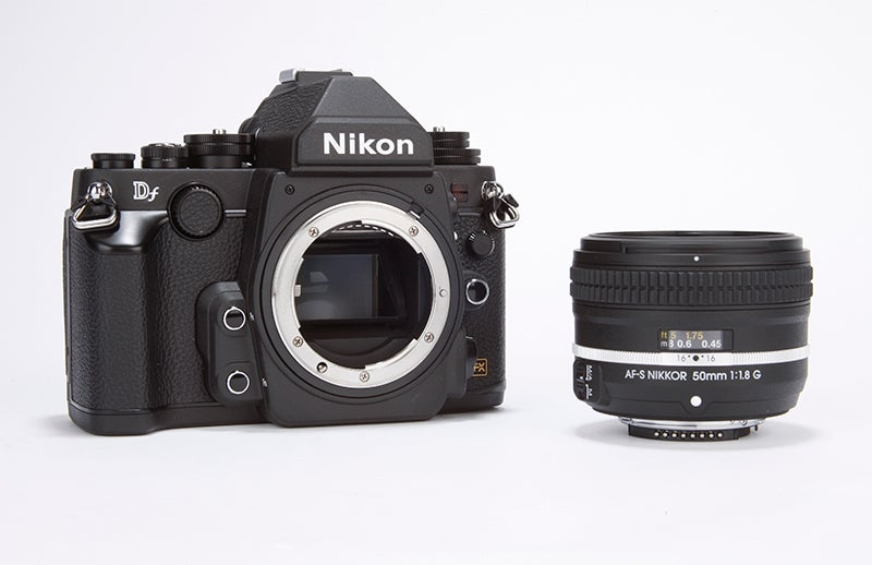 Nikon Df Review -  with lens