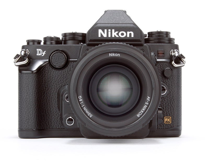 Nikon Df Review - front view