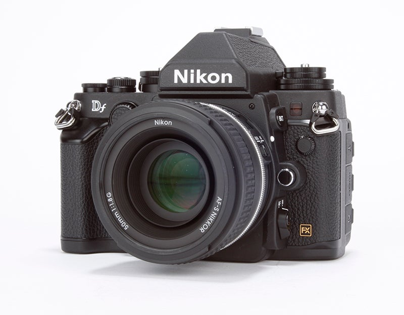 Nikon Df Review -  front angled