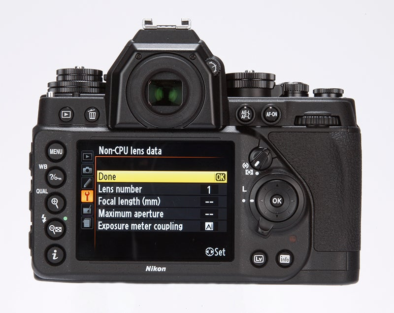 Nikon Df Review -  rear view