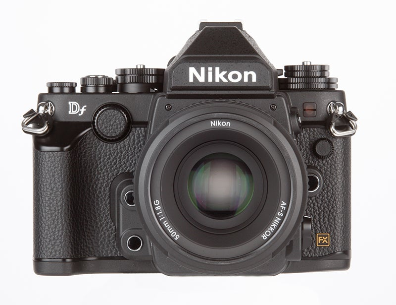 Nikon Df Review -  front view