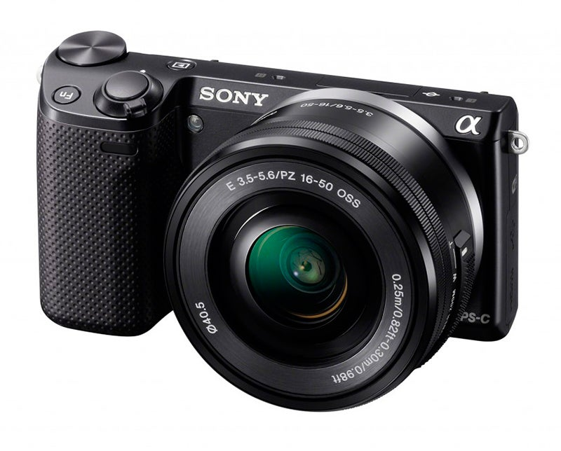 Sony NEX-5T Review - front angled