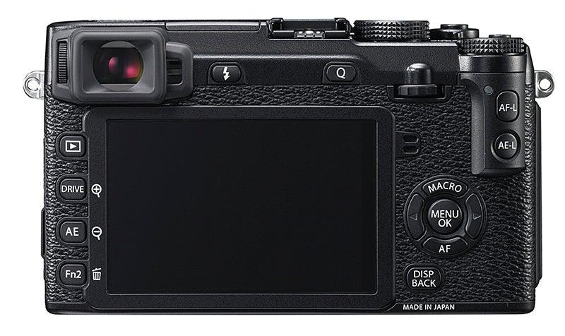 Fujifilm X-E2 Review - rear