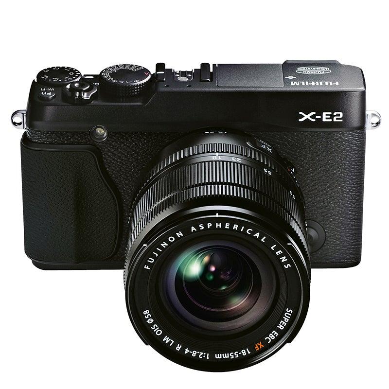 Fujifilm X-E2 Review - front top