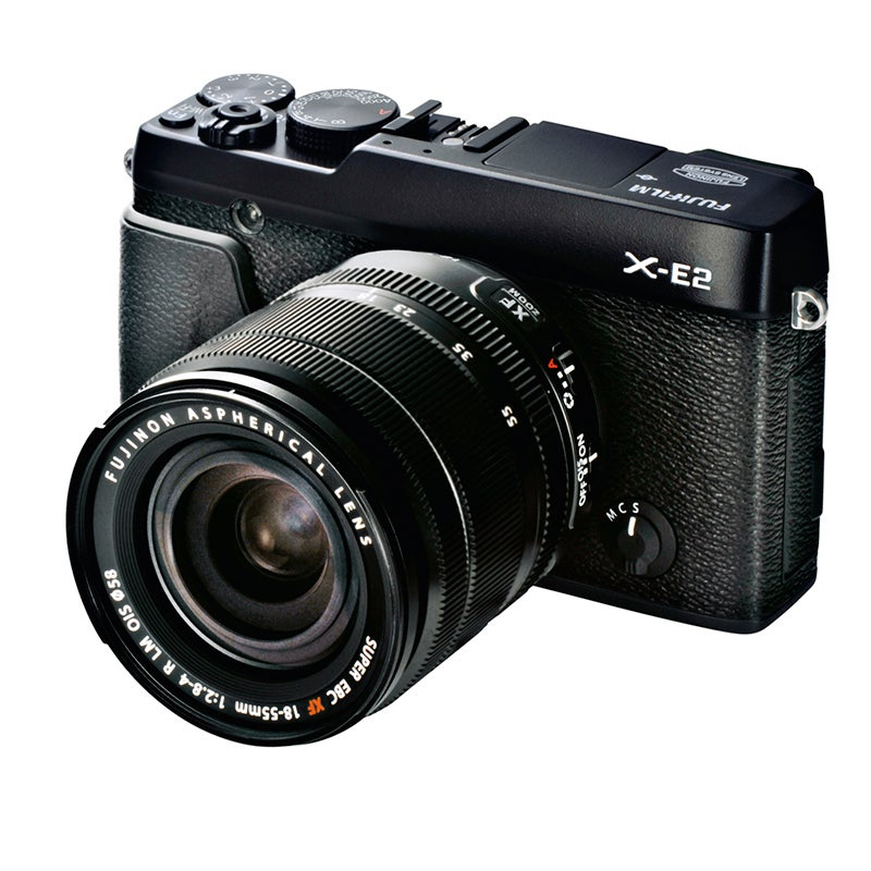 Fujifilm X-E2 Review - front angled