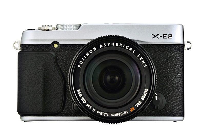 Fujifilm X-E2 Review - front silver