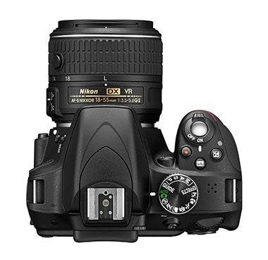 Nikon D3300 top down