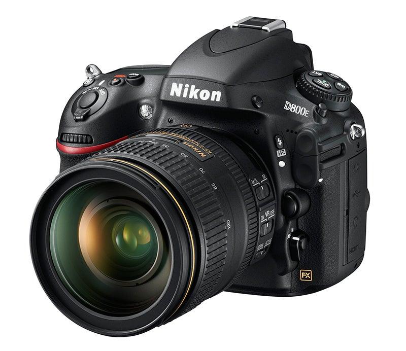 Nikon D800E angled