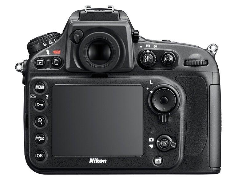 Nikon D800E rear