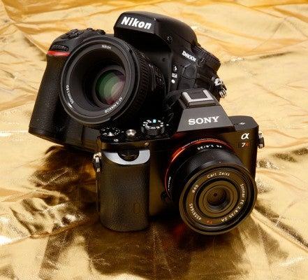 Nikon D800E vs Sony A7R