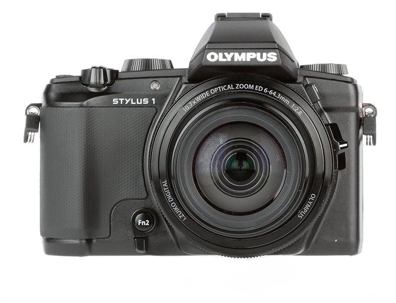 Olympus Stylus 1 angled
