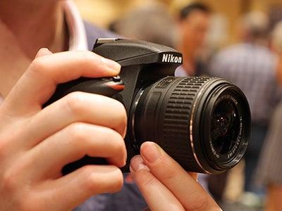 Nikon D3300 hand held
